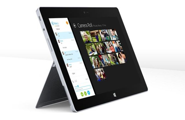 Surface 2 Front Side Tilt