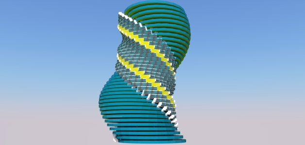 Twisty Tower Creation 01